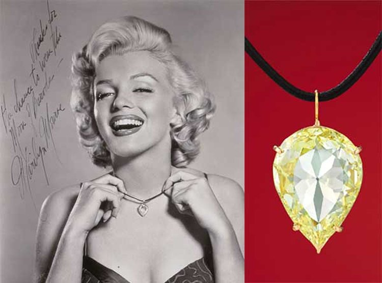 Made Famous by Marilyn Monroe, 'Moon of Baroda' Diamond to Hit the Auction Block in Hong Kong