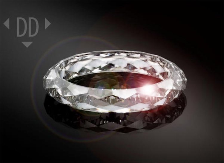 Dutch Tech Company Creates 133-Facet All-Diamond Ring to Mark Its 10th Anniversary