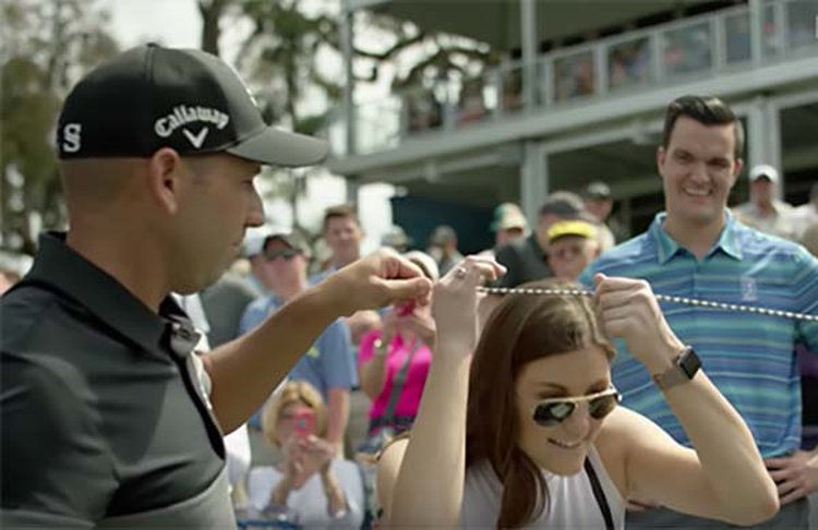 Sergio Garcia Helps Fan With Marriage Proposal at The Players Championship